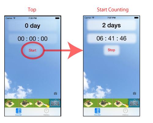 Starting NoFapp App. Free iPhone App